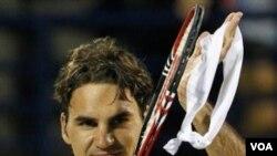 Petenis Swiss peringkat 3 dunia, Roger Federer