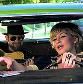 Kristian Bush and Jennifer Nettles of Sugarland