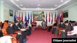 ກອງປະຊຸມລະຫວ່າງສະພາການຄ້າສະຫະລັດ-ອາຊ່ຽນ (US-ASEAN Business Council) ແລະຄຸນະເຈົ້າໜ້າທີ່ຝ່າຍການຄ້າຂອງລາວ
