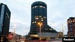 Le siège de la Banque des règlements internationaux (BRI) à Bâle en Suisse (Photo Reuters)