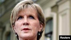 Ngoại trưởng Australia Julie Bishop.