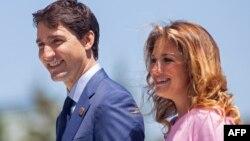 Justin Trudeau û Sophie Trudeau