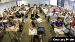 Students in a California community college.