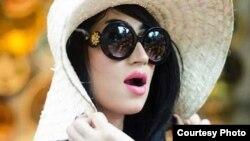 Qandeel Baloch, model and bintang media sosial Pakistan. (Foto: dok.)