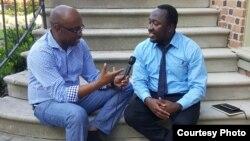 Eddie Rwema, umunyamakuru w'Ijwi ry'Amerika aganira na Eric Mahoro umwe mu banyarwanda bitabiriye gahunda ya Perezida Barack Obama yitwa Mandela Washington Fellowship
