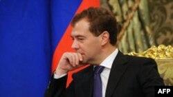 Medvedev Yaponiyanın etirazını sərt tonda cavablandırıb