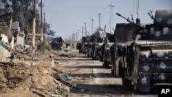 伊拉克安全部队包围了拉马迪市中心的政府区(2015年12月28日)
