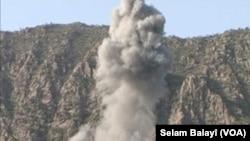 Bombebarana Geliyê Bazê ji Aliyê Firokên Tirkiyê