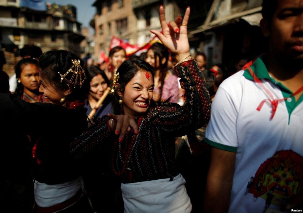 Nepal - Yeni İl şənlikləri