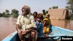 په پاکستان کې هرکال موسمي بارانونه کیږي چې ډېر تلفات اړوي.