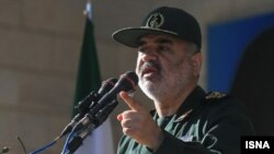 호세인 살라미 이란 혁명수비군 사령관 (자료사진)