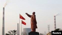 Tượng đài Mao Trạch Đông ở Trung Quốc. Vệ sĩ chính của ông Mao vừa qua đời tại Bắc Kinh hôm 21/8, thọ 99 tuổi.