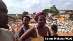Destruição bairro Bita Taque, município de Belas, Luanda