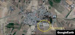 شورای ملی مقاومت نزدیک به مجاهدین خلق می گوید در شهر جلیل آباد در شرق ورامین، در پادگان پازوکی به «تروریست ها» آموزش نظامی داده می شود