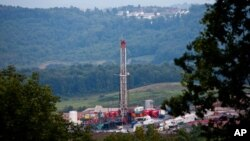 Planta de gas natural en Morgantown, West Virginia. La oferta excede la demanda de gas natural líquido.