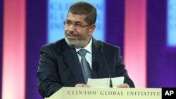 Presiden Mesir Mohammed Morsi yang didukung kelompok Islamis meningkatkan kekhawatiran akan keberlanjutan perdamaian Mesir-Israel (foto: dok).