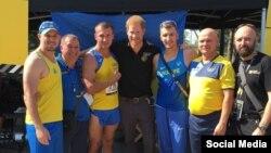 Українські спортсмени з принцом Гаррі