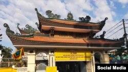 Tang lễ của Hoà Thượng Thích Quảng Độ, ảnh chụp ngày 23/2/2020.(Facebook Cung Dieu Ly)