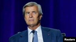 Vincent Bolloré, le 17 avril 2015 à Paris. (REUTERS/Charles Platiau)
