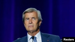 Vincent Bolloré, le 17 avril 2015 à Paris.