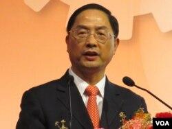 中国商务部副部长 蒋耀平(美国之音张永泰拍摄)