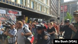 Crmacki aktivisti u Clevelandu, July 19, 2016.
