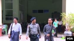 Myanmar Now သတင္းဌာန အယ္ဒီတာခ်ဳပ္ ကိုေဆြ၀င္း ကို ေက်ာက္တံတားရဲစခန္းမွာ စစ္ခ်က္ယူ