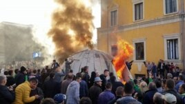 Protesta e opozitës, 5 të arrestuar