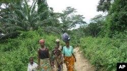 آئیوری کوسٹ کے پناہ گزین