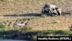 Araşdırmaçı jurnalist Daphne Caruana Galizia-nın avtomobili qəzadan sonra
