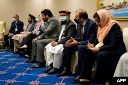 دوحہ میں ہونے والے افغان امن مذاکرات میں حصہ لینے والا سرکاری وفد