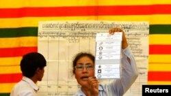 Bầu cử ở Campuchia