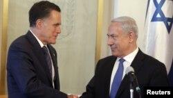 PM Israel Benjamin Netanyahu (kanan) merupakan teman dekat dan lebih mendukung Capres Mitt Romney dalam pilpres AS yang baru saja berakhir (foto: dok).