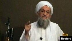 Imagen tomada de un video de Ayman al Zawahiri, líder de Al Qaeda, en el que reconoció dos meses después la muerte de Abu Yahya al-Libi, uno de los confidentes de Osama Bin Laden.