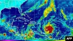 Bão Tomas có thể di chuyển qua hướng Bắc trong tuần này và tiến về phía Haiti
