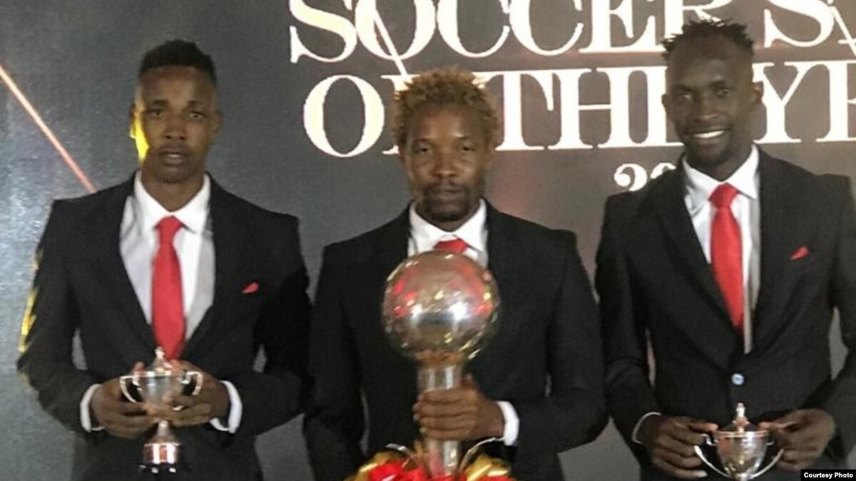 Caps United Midfield Maestro Joel Ngodzo Scoops Zimbabwe Soccer Star of The Year Award
