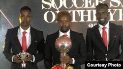 Prince Dube, Joel Ngodzo and Ralph Kawondera
