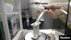Análisis de muestras de trigo en laboratorios de Corea del Sur debido a la alerta lanzada por la Unión Europea.