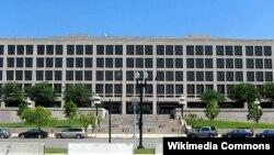 Kantor pusat Departemen Tenaga Kerja AS di Washington, D.C. (Foto: dok). Para ekonom memperkirakan laporan hari ini akan menunjukkan tingkat pengangguran yang tetap pada kisaran 8 persen dalam tiga bulan terakhir.