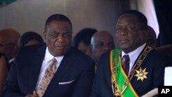 VaEmmerson Mnangagwa naVaConstantino Chiwenga