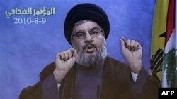 """Thủ lãnh nhóm Hồi giáo Hezbollah ở Lebanon tuyên bố Hezbollah sẽ """"chặt tay"""" bất cứ kẻ nào tìm cách bắt người của họ"""