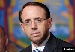 로젠스타인 연방 법무부 부장관.