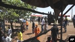 Le quartier de Bambeto, à Conakry