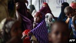 Phần lớn người tị nạn tại Dadaab là người Somalia đã bỏ chạy khỏi nước hồi năm ngoái để tránh nạn hạn hán trầm trọng hoặc cuộc xung đột kéo dài của Somalia