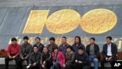 大陸觀光團遊覽台灣故宮博物院