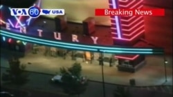 VOA60 USA Breaking News- Movie Theater Shooting