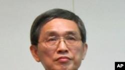 台湾经济部长施颜祥