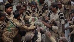 فروریزی ساختمان مسکونی در پایتخت هند ۶۴ کشته برجای گذاشت