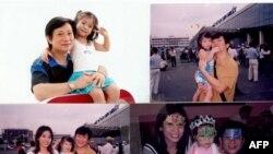 Gia đình Lý Hương, Tony Lâm và bé Princess thời còn hạnh phúc