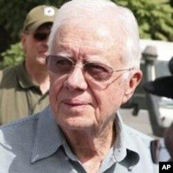 L'ancien président américain Jimmy Carter assistera au référendum en compagnie d'une centaine d'observateurs internationaux